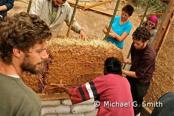 Natural building Workshops by Michael G. Smith