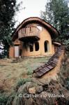 Cobworks cob home, antural building technique by Michael G. Smith