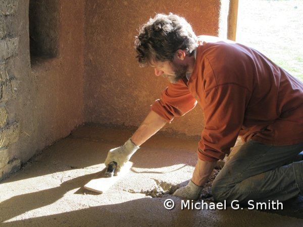 Earthen floor - Michael G Smith