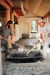 Earthen floors finish layer, natural building technique by Michael G. Smith